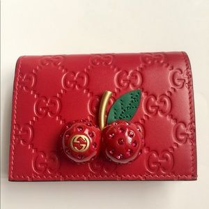 Gucci Wallet Cherry Collection 🍒
